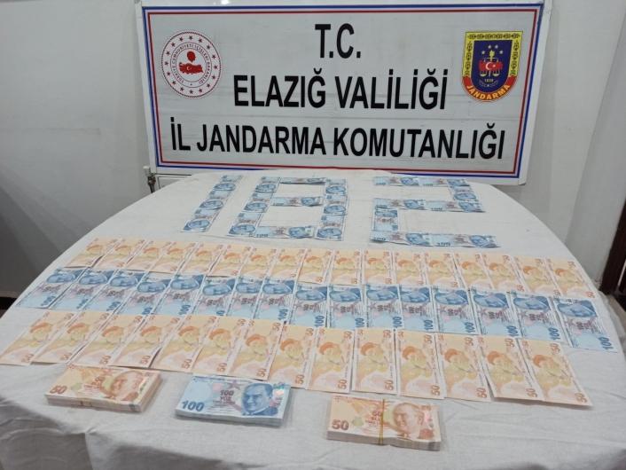 İstanbul´dan Elazığ´a 26 bin TL sahte para getiren şüpheli yakalandı