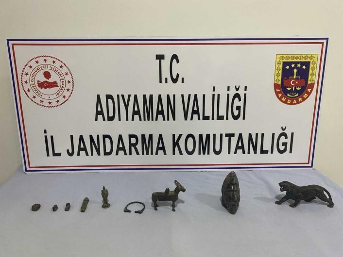 Jandarma tarihi eser ele geçirdi