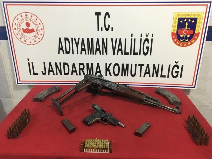 Jandarmadan silah operasyonu: 1 gözaltı
