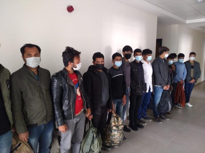 Kaçak göçmenleri İstanbul diye Kahramanmaraş´a bırakmışlar