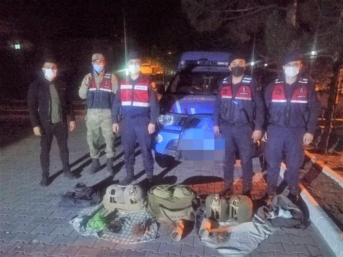 Kaçak keklik avlayan 3 kişiye tam kapanmayı ihlalden 2 bin 700 lira ceza