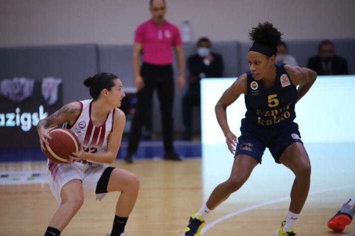 Kadınlar Basketbol Süper Ligi: Elazığ İl Özel İdare: 60 - Fenerbahçe: 82