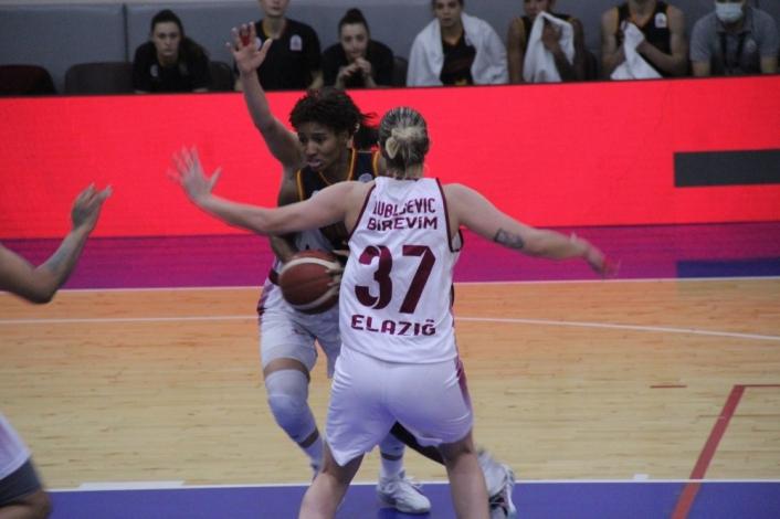 Kadınlar Basketbol Süper Ligi: Elazığ İl Özel İdare: 79 - Galatasaray: 87
