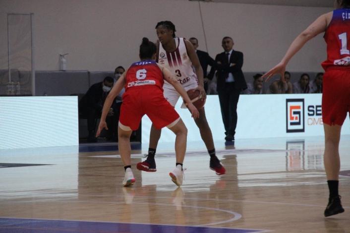 Kadınlar Basketbol Süper Ligi: Elazığ İl Özel İdare: 82 - Botaş: 95