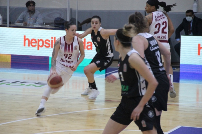 Kadınlar Basketbol Süper Ligi: Elazığ İl Özel İdare: 88 - Beşiktaş: 82