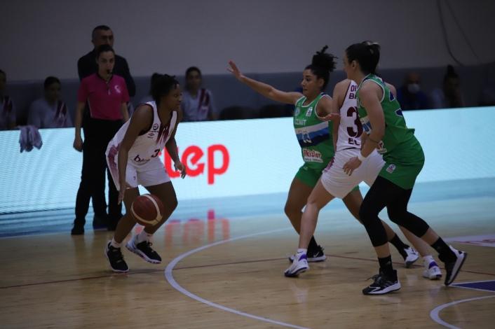 Kadınlar Basketbol Süper Ligi: Elazığ İl Özel İdare: 91 - İzmit Belediyespor: 82
