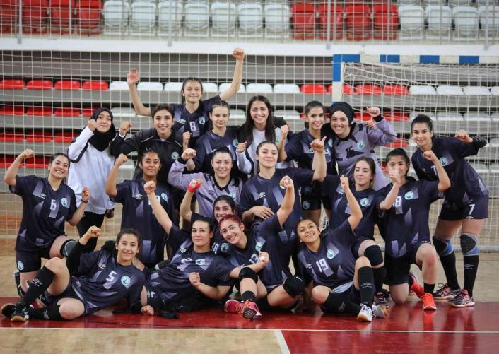 Kadınlar Hentbol 1. Ligi: Sivas Belediyespor: 27 - Elazığ Sosyal Yardımlaşma Spor Kulübü: 22