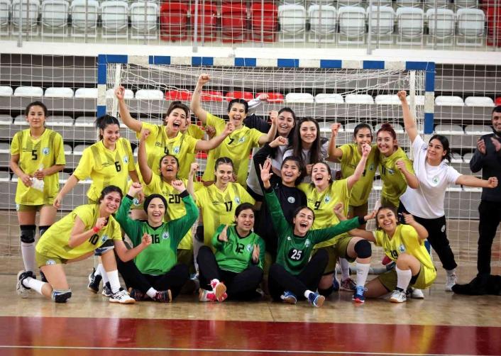 Kadınlar Hentbol 1. Ligi: Sivas Belediyespor: 39 - Mersin Büyükşehir Belediye: 34