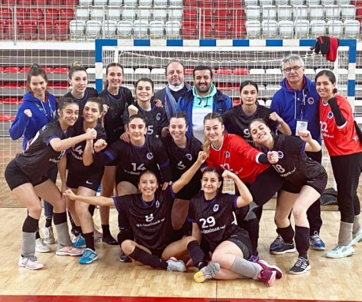 Kadınlar Hentbol Süper Ligi: Sivas Belediyespor: 25 - Üsküdar Belediyespor: 27