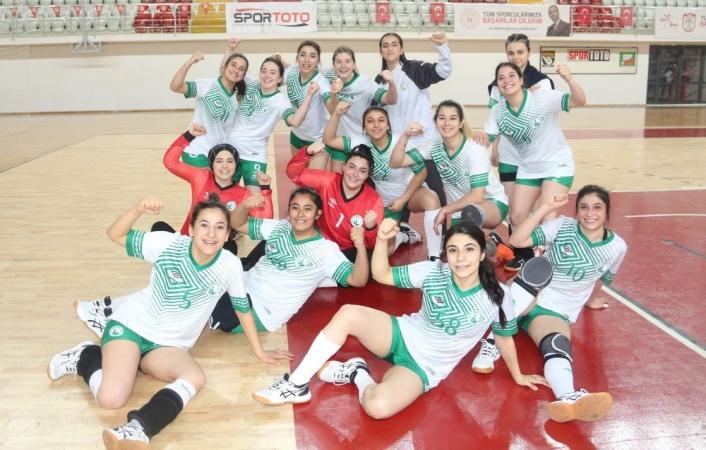 Kadınlar Hentbol Süper Ligi: Sivas Belediyespor: 35 - Aksaray Belediye Gençlikspor: 30