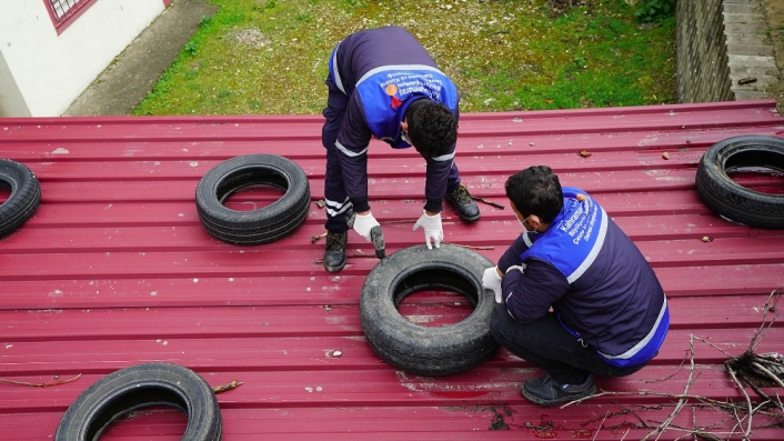 Kahramanmaraş atık araç lastiklerinden temizleniyor