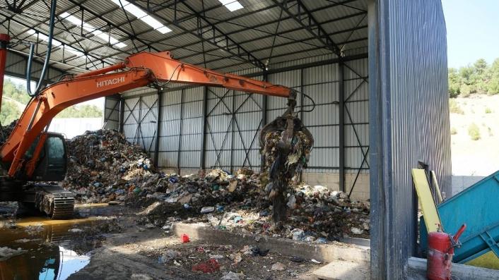 Kahramanmaraş´ta 238 bin ton atık bertaraf edildi
