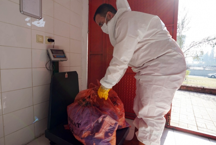 Kahramanmaraş´ta bin 300 ton tıbbi atık bertaraf edildi