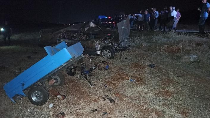 Kahramanmaraş´ta feci kaza: 4 ölü, 1 ağır yaralı