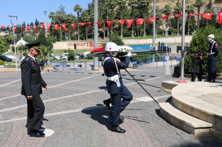 Kahramanmaraş´ta Jandarma Teşkilatının 182. kuruluş yıl dönümü kutlandı