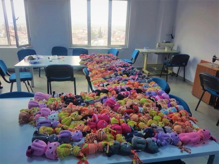 Kahramanmaraş´ta lösemili çocuklara destek için kurs açıldı