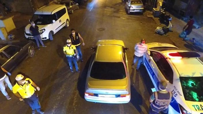 Kahramanmaraş´ta maske takmayan 16 kişiye 21 bin 785 lira ceza