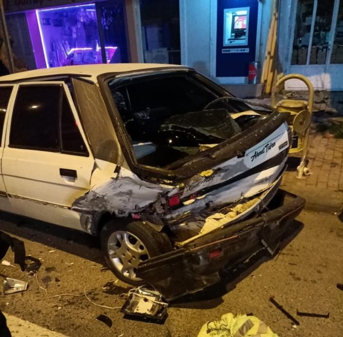 Kahramanmaraş´ta trafik kazası: 2 yaralı