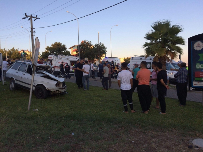 Kahramanmaraş´ta trafik kazası: Ambulans şoförü hayatını kaybetti