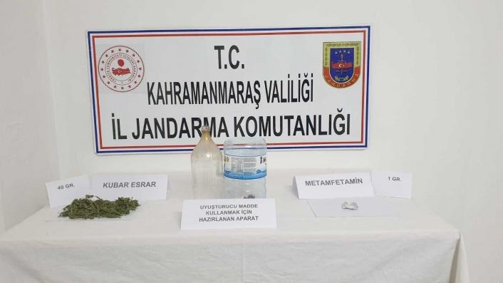 Kahramanmaraş´ta uyuşturucu operasyonu: 5 gözaltı