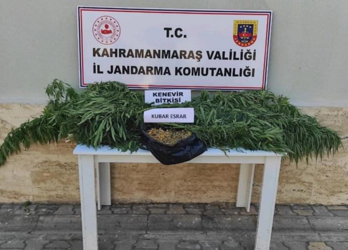 Kahramanmaraş´ta uyuşturucuya 2 gözaltı