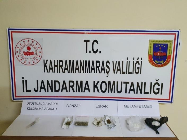 Kahramanmaraş´ta uyuşturucuya 8 gözaltı