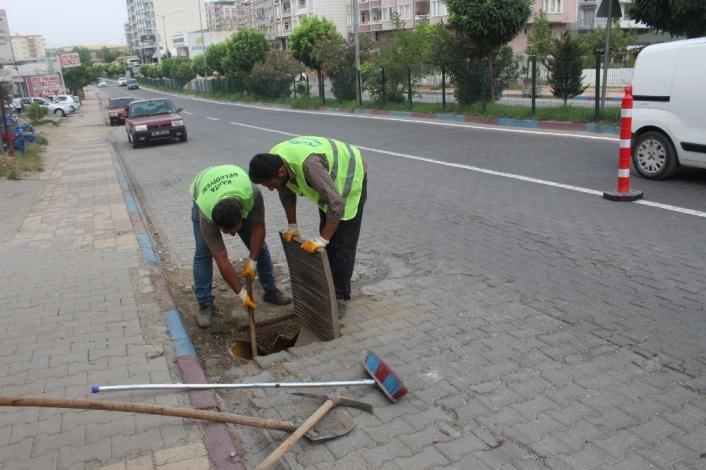 Kahta Belediyesi Kışa Hazırlık Çalışmalarına Başladı