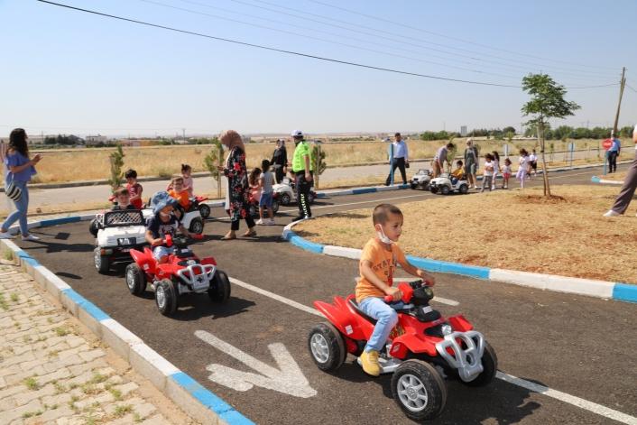 Kahta Çocuk Trafik Eğitim Parkı hizmet vermeye başladı