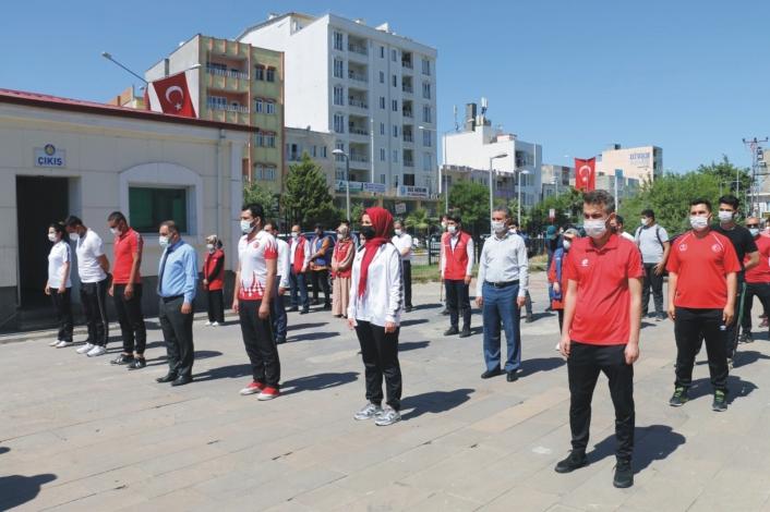Kahta´da 19 Mayıs Gençlik ve Spor Bayramı kutlandı