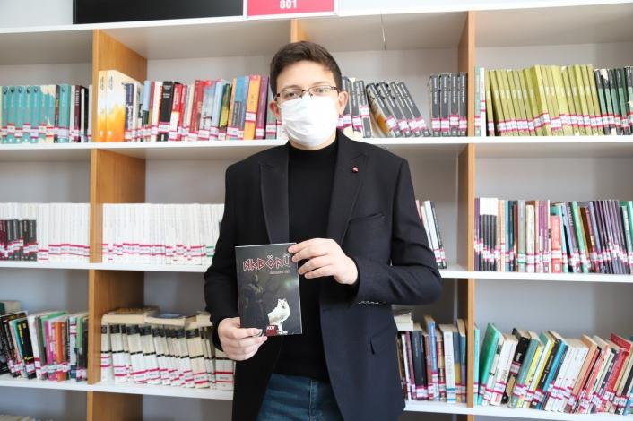 Kahta´da lise öğrencisi kitap yazdı