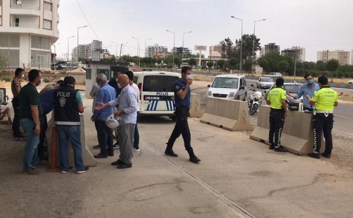 Kahta´da maske takmayan vatandaşlara ceza kesildi