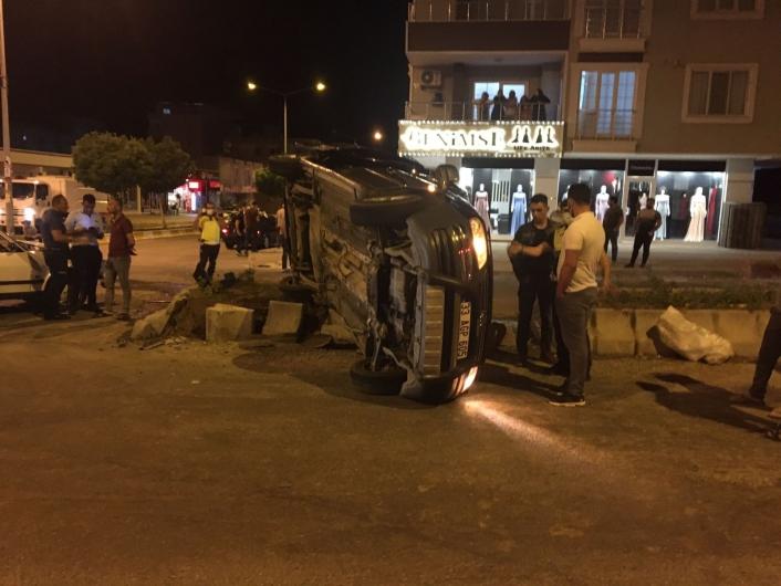 Kahta´da trafik kazası: 5 yaralı