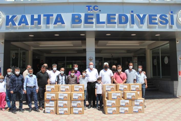 Kahta´daki Çölyak hastalarına gıda yardımı yapıldı