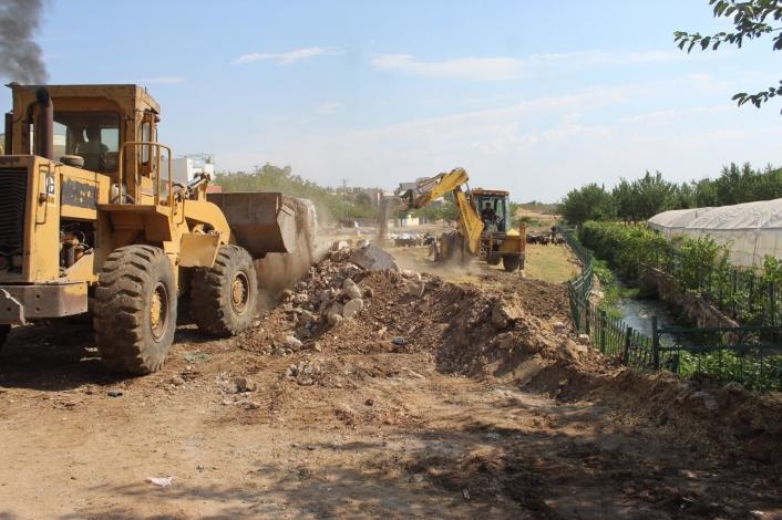 Kanal Boyu Parkı´nın ikinci etap çalışmalarına başlandı