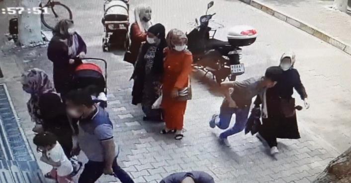 Kapkaççılar hamile kadının cüzdanını çaldı