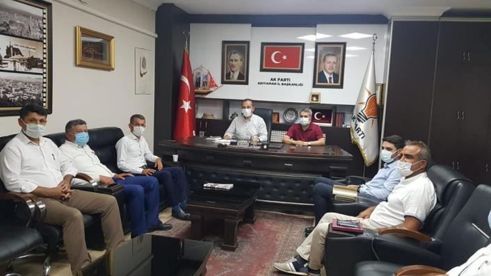 Kooperatif başkanları AK Partili başkanlarla buluştu