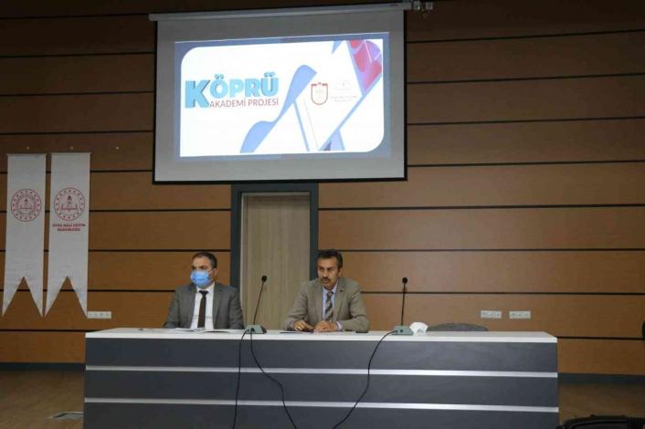 Köprü Akademi Projesi toplantısı gerçekleştirildi
