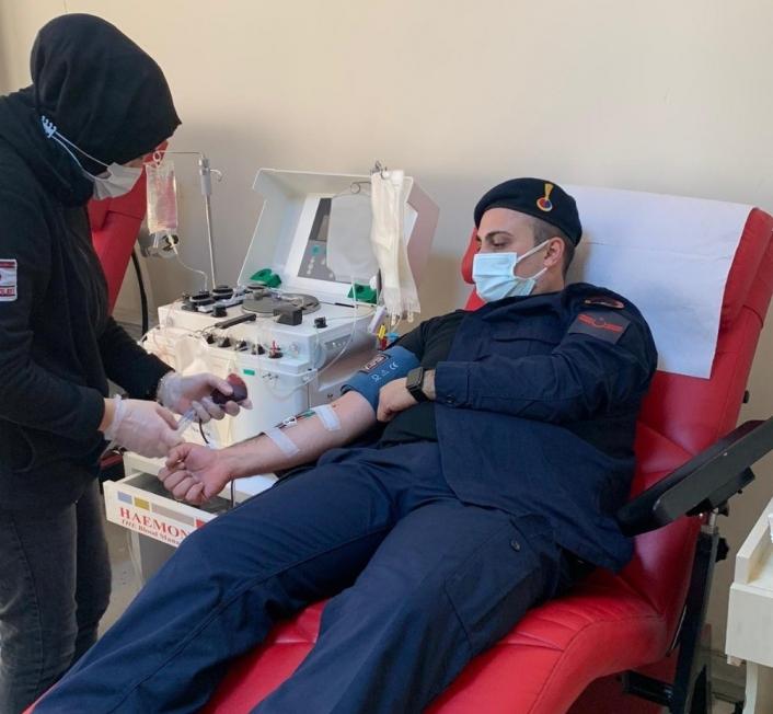 Koronavirüsü yenen Jandarma personelleri bağışçı oldu