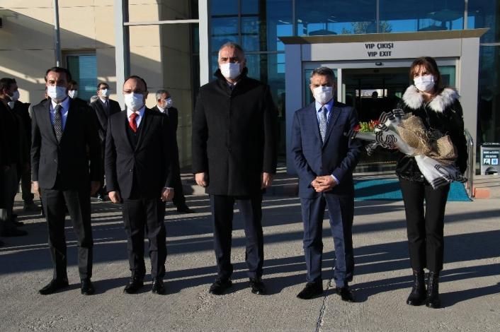 Kültür ve Turizm Bakanı Ersoy Elazığ´dan Tunceli´ye geçti