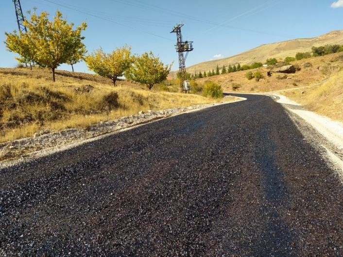 Kuluncak´ta asfaltsız yol kalmayacak