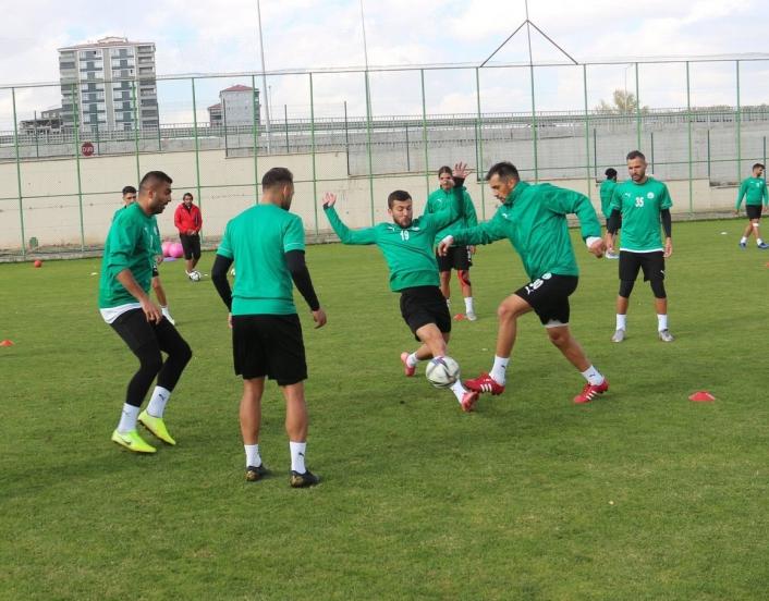 Lider Sivas Belediyespor, Bodrumspor maçına hazırlanıyor