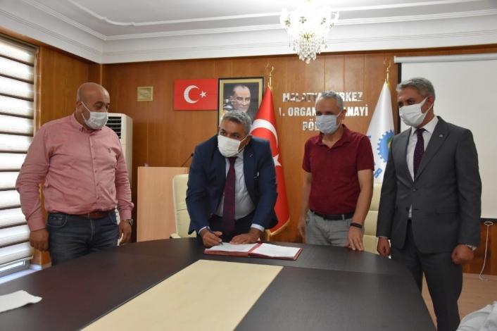 Malatya 1. OSB Arıtma Tesisi için imzalar atıldı