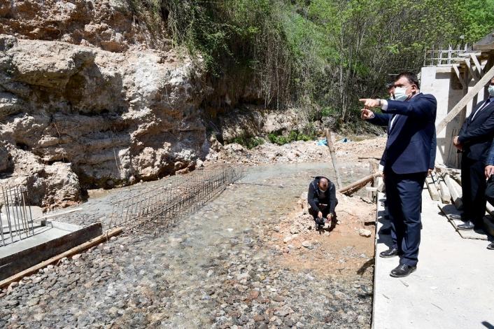 Malatya Büyükşehir, 3 yeni su kaynağında çalışmalarını sürdürüyor