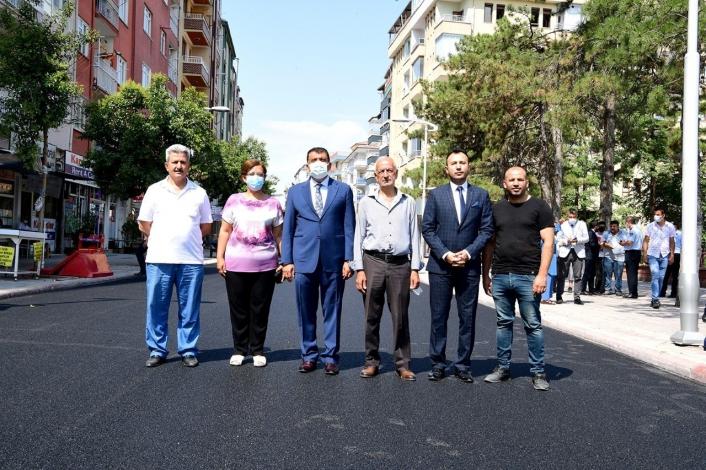 Malatya Büyükşehir, asfalta hız verdi