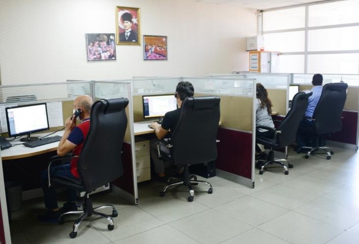 Malatya Büyükşehir çağrı merkezi 700 isteğe cevap veriyor