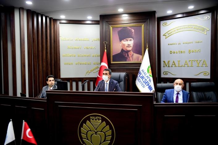 Malatya Büyükşehir´den ulaşım koordinasyon toplantısı
