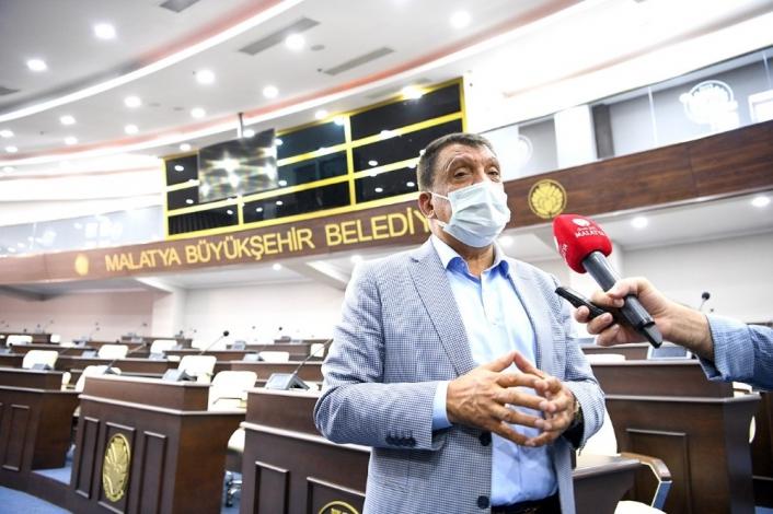 Malatya Büyükşehir meclis salonu yenilendi
