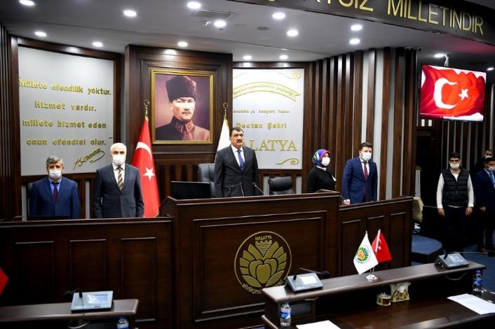 Malatya Büyükşehir Meclisi Aralık toplantısını yaptı