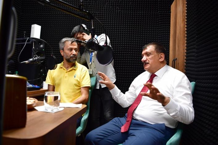 Malatya Büyükşehir Radyosu´ndan ilk yayın Zafer Bayramı günü