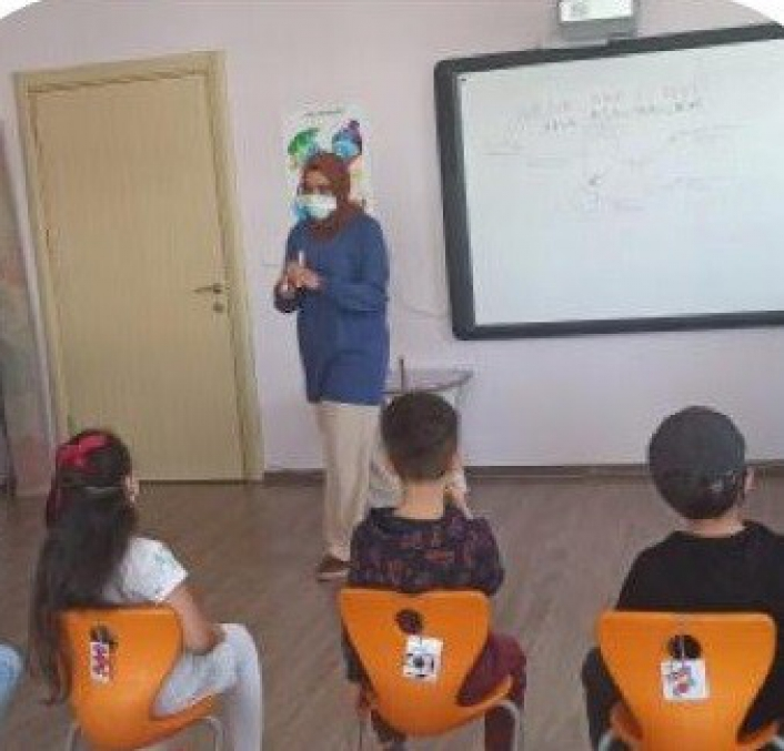 Malatya´da anaokulu öğrencilerinden karbon ayak izi projesine katkı